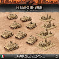 Flames of War: Lorenzo's Rams Army Deal