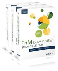 Wiley 2018 Part I FRM Exam Study Guide & Practice Question Pack by Wiley