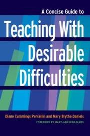 A Concise Guide to Teaching With Desirable Difficulties by Mary Blythe Daniels image