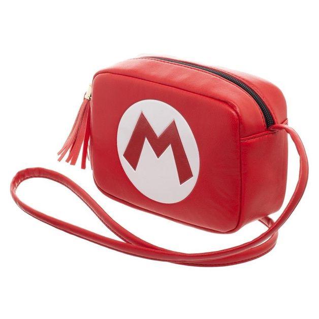 Super Mario Camera Crossbody Bag