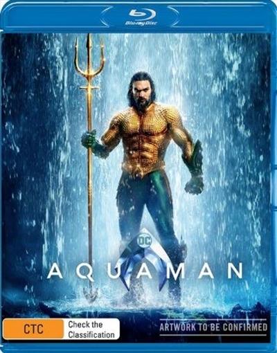 Aquaman on 3D Blu-ray image