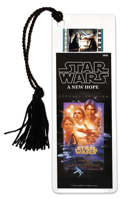 FilmCells: Film Cell Bookmark - Star Wars IV (A New Hope)