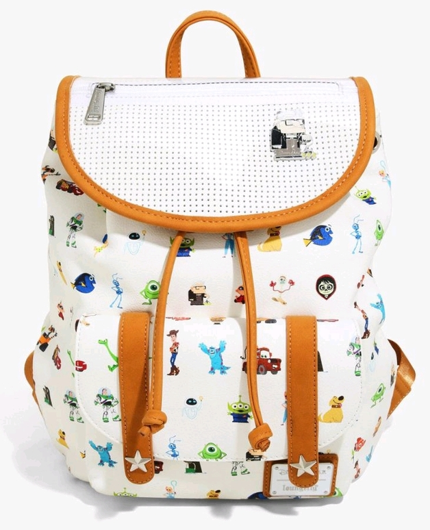 Loungefly: Disney Pixar Character Print Backpack