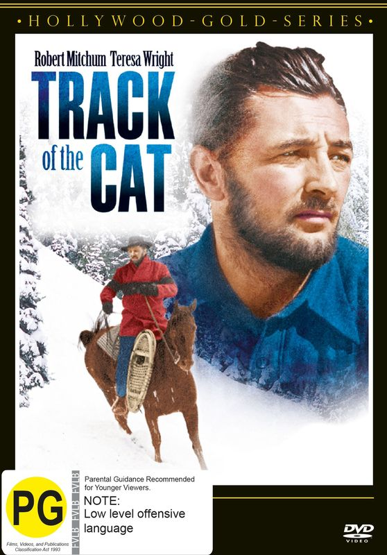 Track Of The Cat on DVD