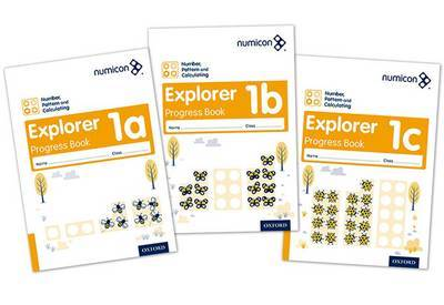 Numicon: Number, Pattern and Calculating 1 Explorer Progress Books ABC (Mixed pack): 1 by Ruth Atkinson