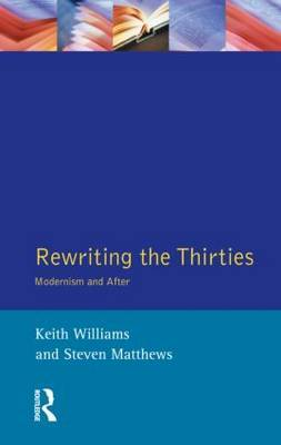 Rewriting the Thirties by Keith Williams image