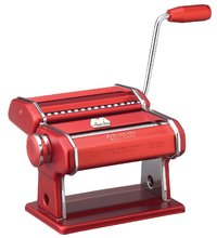 Marcato Atlas 150 Design Pasta Machine (Red)