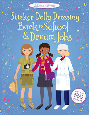 Sticker Dolly Dressing by Emily Bone