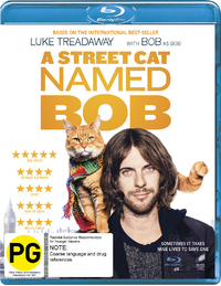 A Street Cat Named Bob on Blu-ray