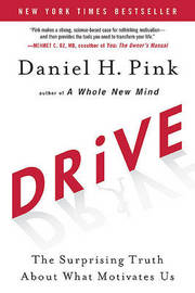 Drive: The Surprising Truth about What Motivates Us by Daniel H Pink