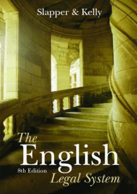 The English Legal System by Gary Slapper image