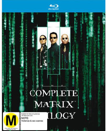 The Matrix Trilogy on Blu-ray