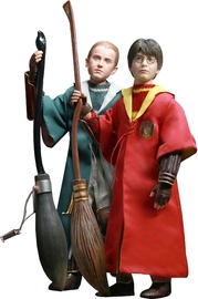 Harry Potter: Harry & Draco (Quidditch Ver.) - 1:6 Scale Action Figure Twin Pack