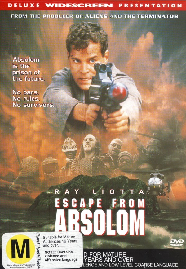 Escape From Absolom on DVD image