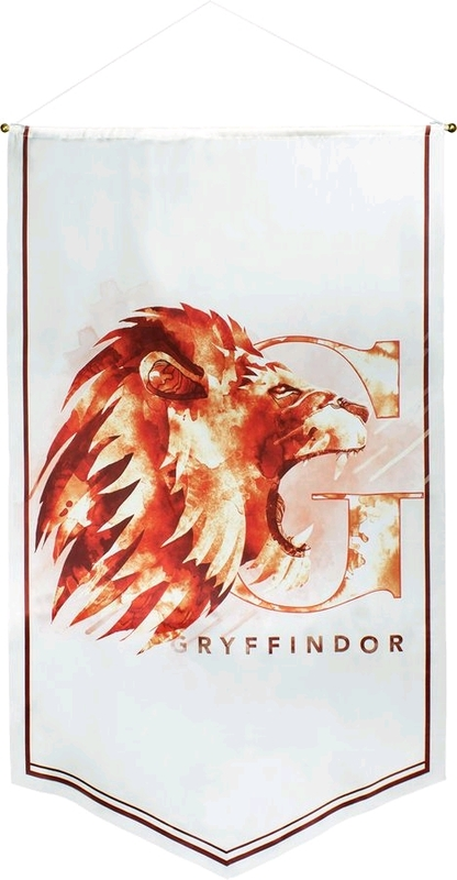 Harry Potter Watercolour Satin Banner (Gryffindor)
