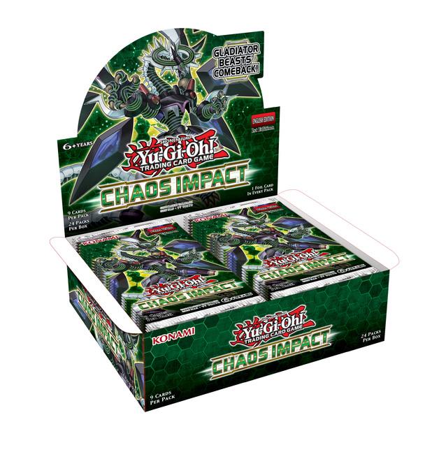 Yu-Gi-Oh! Chaos Impact Booster Box (24 Packs)
