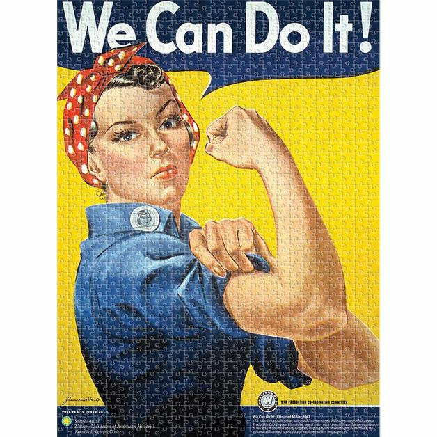Smithsonian – Rosie Riveter 1000pc Puzzle