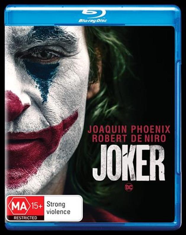 Joker on Blu-ray