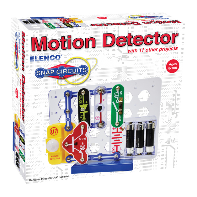 Snap Circuits: Mini Kit Motion Detector