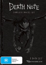 Death Note - Movie 1 & 2 Collection (2 Disc) on DVD