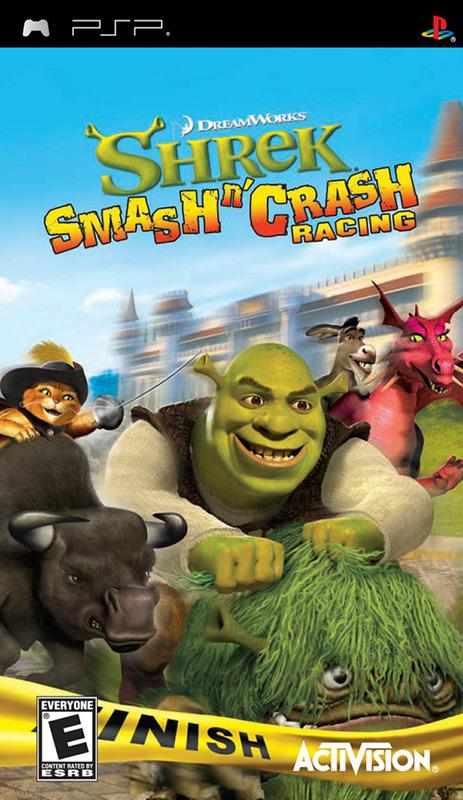 Shrek Smash 'n' Crash for PSP