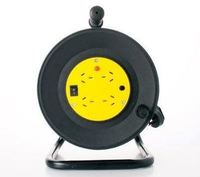 25m 8ware Power Cable Extension Reel with 4 Way Socket Panel