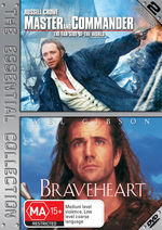 Master And Commander / Braveheart - The Essential Collection (2 Disc Set) on DVD
