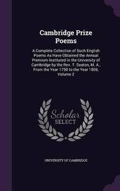 Cambridge Prize Poems image