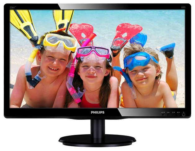 "21.5"" Philips V Line - 5ms LED-Backlight LCD Monitor"