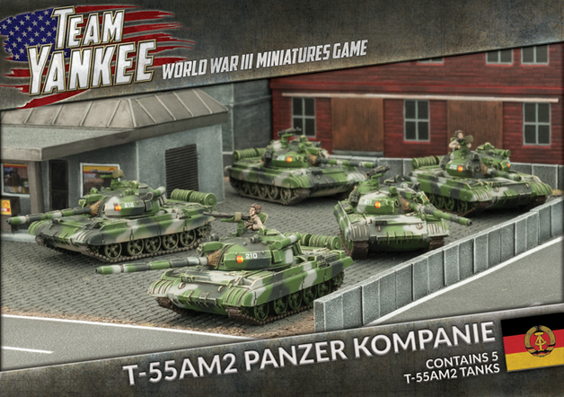 Flames of War: Team Yankee T-55AM2 Panzer Kompanie