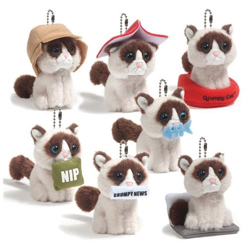 Grumpy Cat: Series 1 - Collectable Plush (Blind Box)