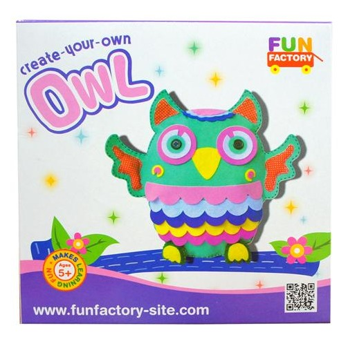 Fun Factory: DIY Owl Plush - Craft Kit