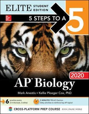 5 Steps to a 5: AP Biology 2020 Elite Student Edition by Mark Anestis image