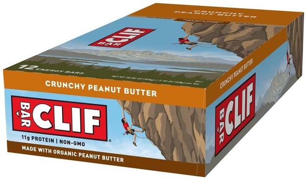 Clif Bar - Crunchy Peanut Butter (Box of 12)