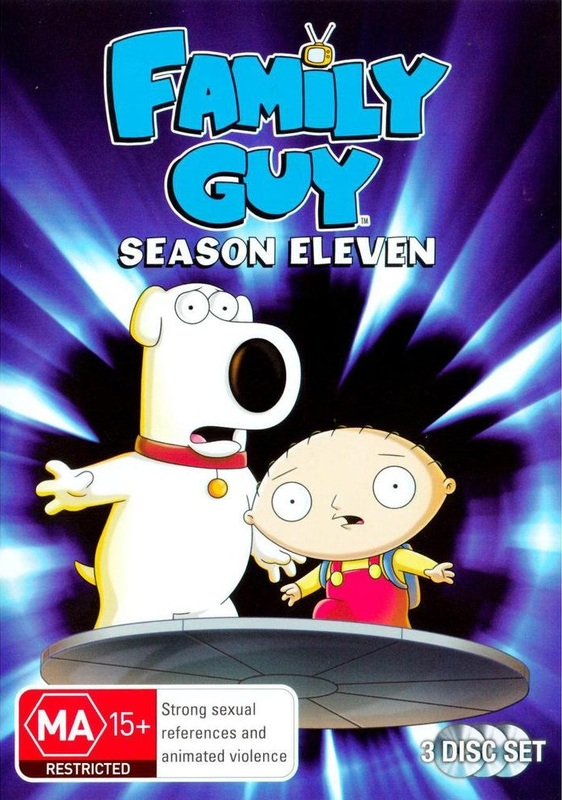 Family Guy - Season 11 on DVD