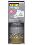Scotch Washi Craft Tape Multipack Silver & Gold