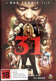 31 (A Rob Zombie Film) on DVD