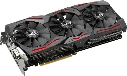 ASUS GeForce GTX 1080 TI STRIX 11GB Graphics Card