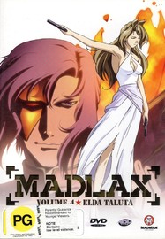 Madlax - Vol. 4: Elda Taluta on DVD image