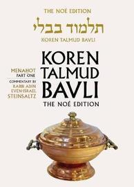 Koren Talmud Bavli: v. 25 by Adin Steinsaltz