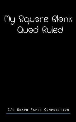 My Square Blank Quad Ruled by Paper Kate Publishing image