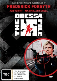 Frederick Forsyth's The Odessa File on DVD