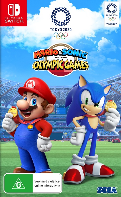 Mario & Sonic At The Olympic Games Tokyo 2020 for Switch
