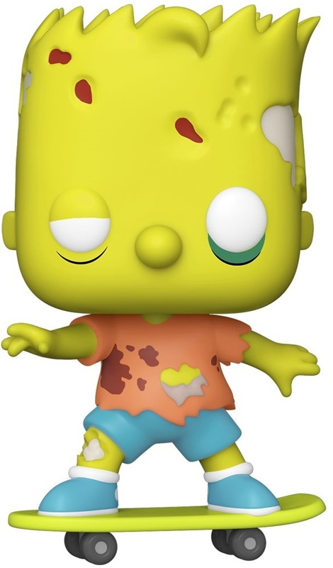 The Simpsons: Bart (Zombie) - Pop! Vinyl Figure
