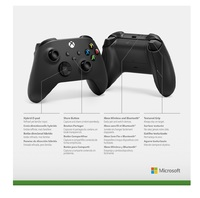 Xbox Wireless Controller - Carbon Black for Xbox Series X