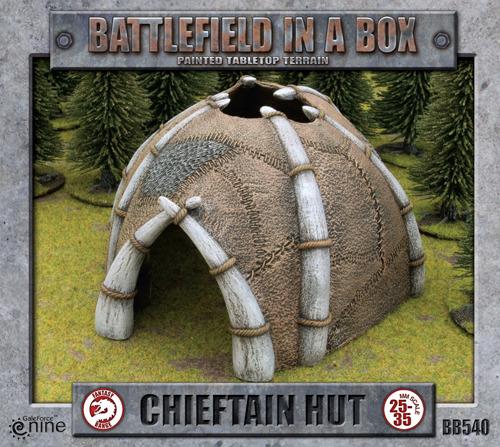 Battlefield in a Box - Chieftain Hut