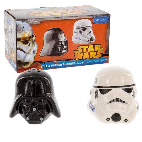 Star wars darth vader and stormtrooper salt and pepper shakers at mighty ape australia - Darth vader and stormtrooper salt and pepper shakers ...