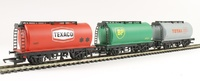 Hornby: RailRoad Fuel Tanker Triple Pack - BP, Texaco Total