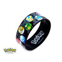 Pokemon Pokeball Silicone Bracelet
