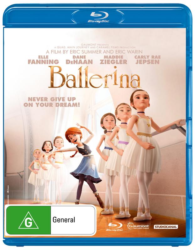 Ballerina on Blu-ray